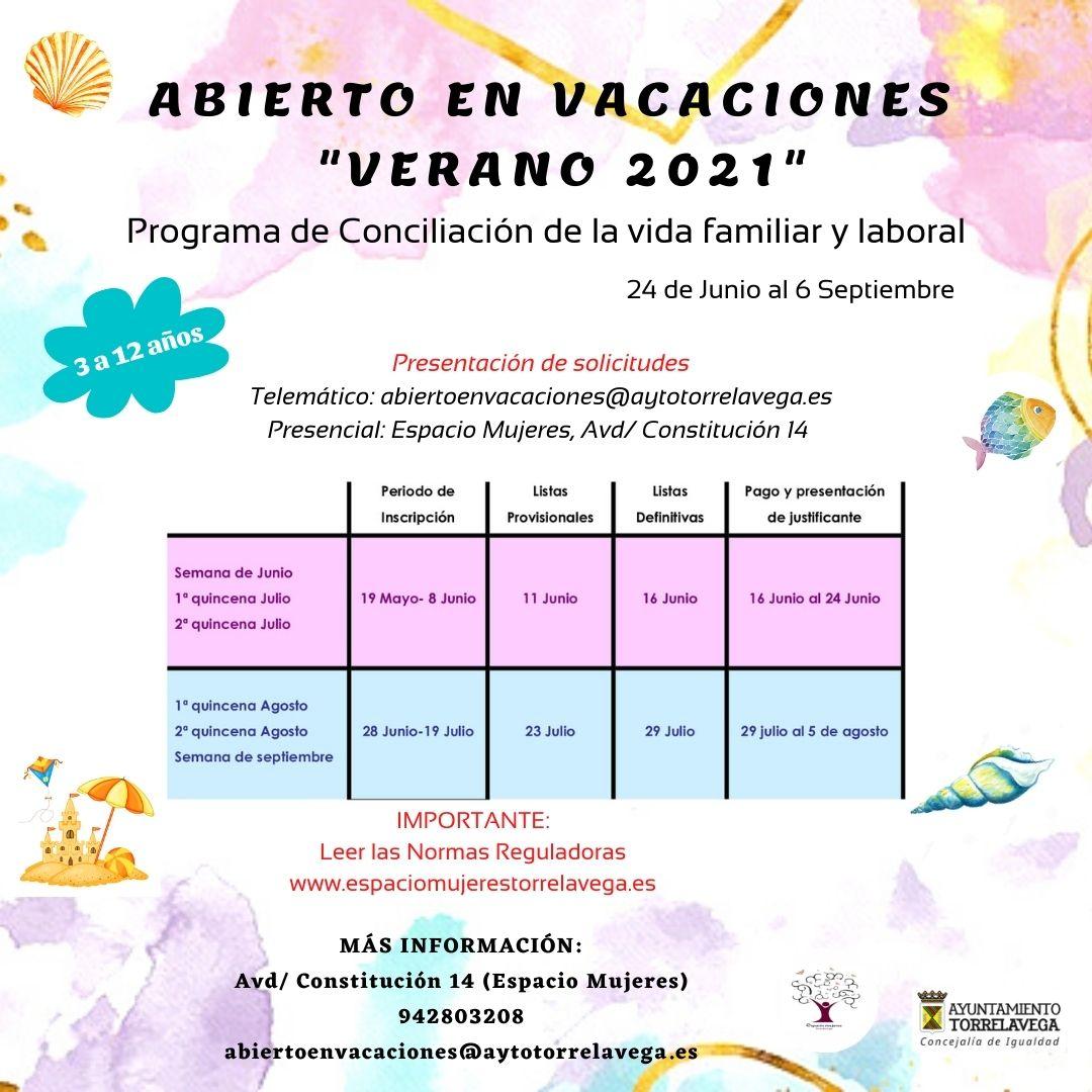 INSCRIPCION ABIERTO EN VACACIONES NAVIDAD 2020